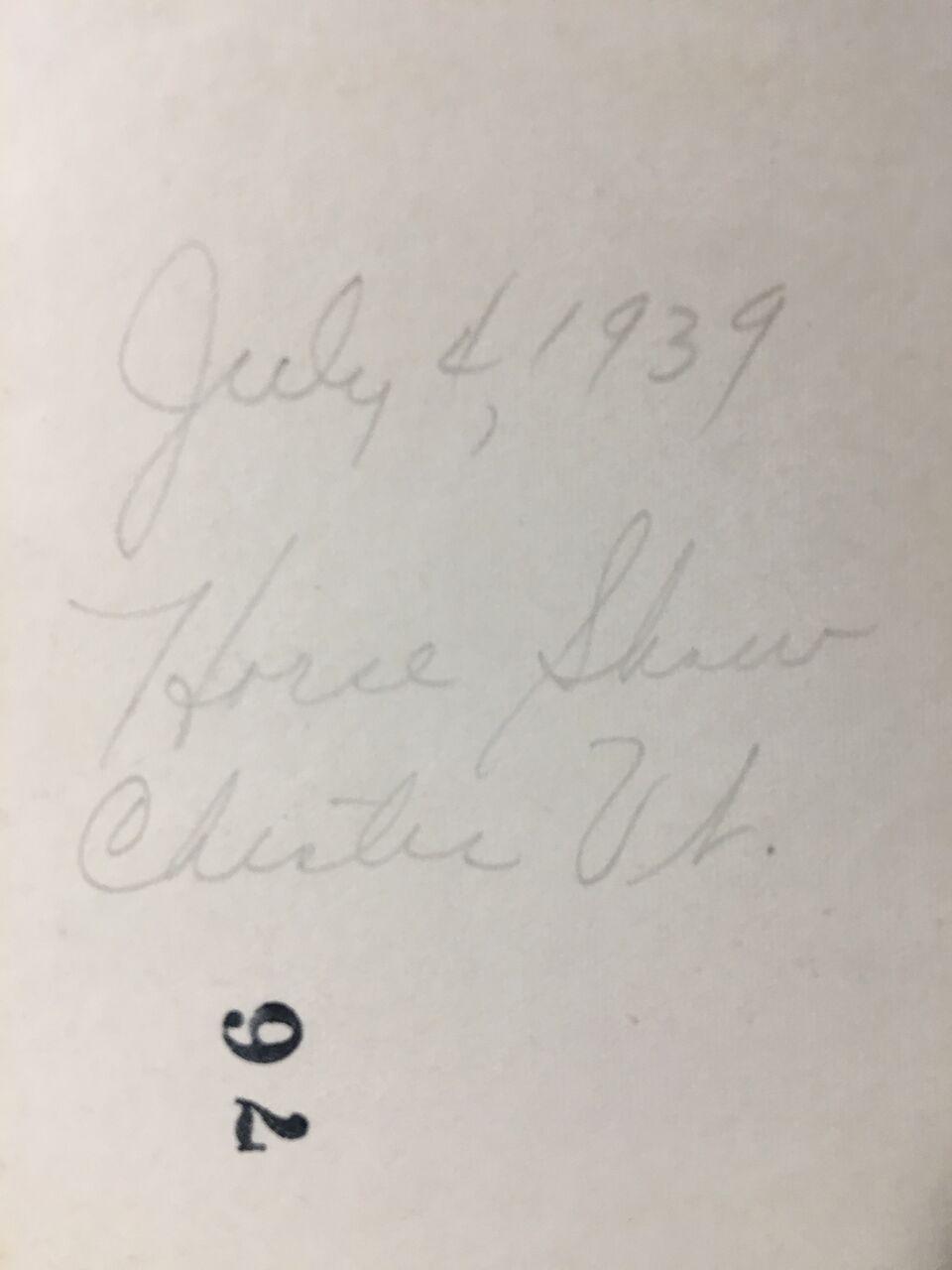 july 4 1939 b